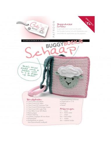 Durable buggyboekje Schaap
