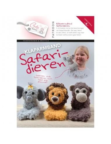 Patroonboekje klaparmband safaridieren