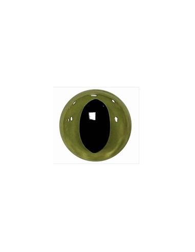 poezenogen groen 20 mm (per paar)