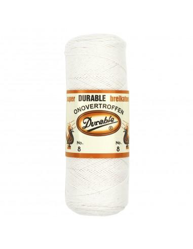 Durable breikatoen nr.8 wit (kleur 009)