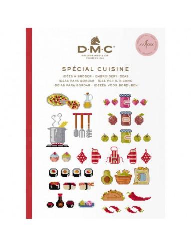 DMC boek ideeën om te borduren keuken