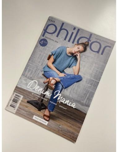 Phildar patroonboekje 684 denim mania