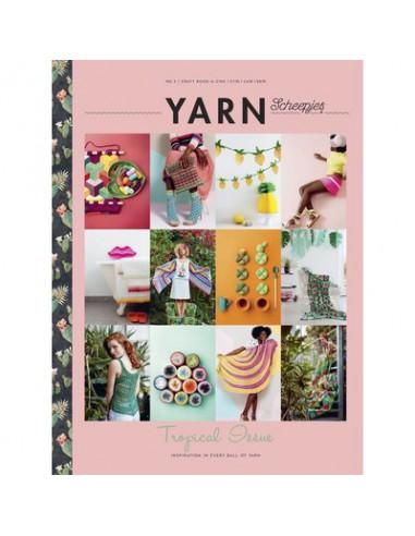 Scheepjes Yarn book-a-zine 3 tropical...
