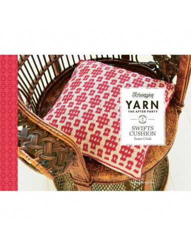 Yarn after party 45 Swifts cushion