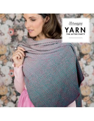 Haakpakket read between the lines shawl
