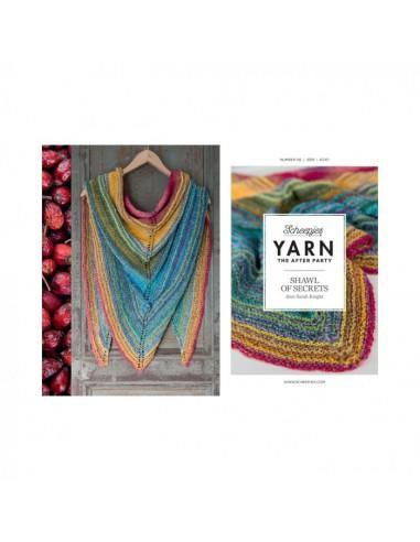 Scheepjes Yarn after party 06 shawl...