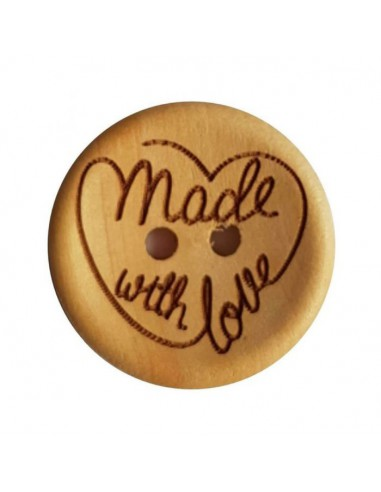 Durable knoop handmade with love 4 st