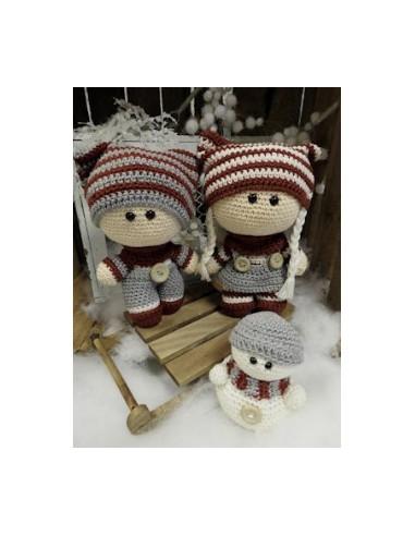 haakpakket Funny Snowie set