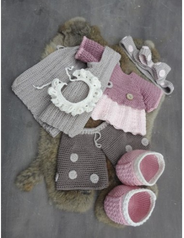 XXL Haakpakket Funny Bunny kledingset...