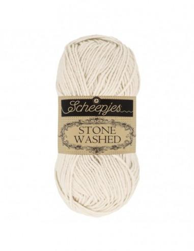 Scheepjes Stone Washed 1664-801 Moon Stone: