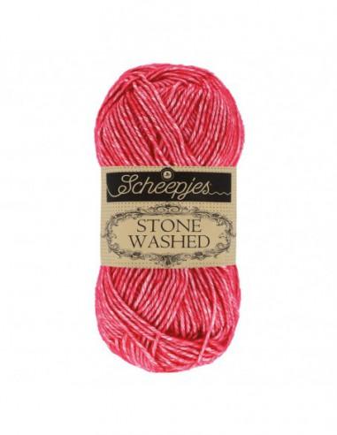 Scheepjes Stone Washed 1664-807 Red Jasper