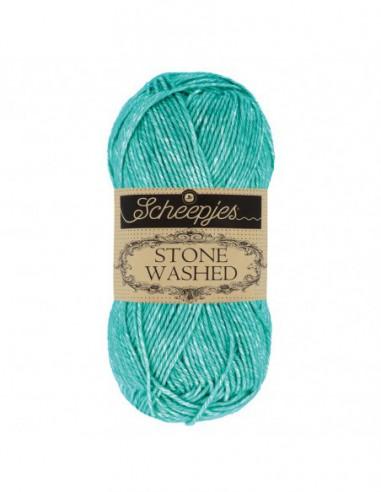 Scheepjes Stone Washed 1664-815 Green Agate