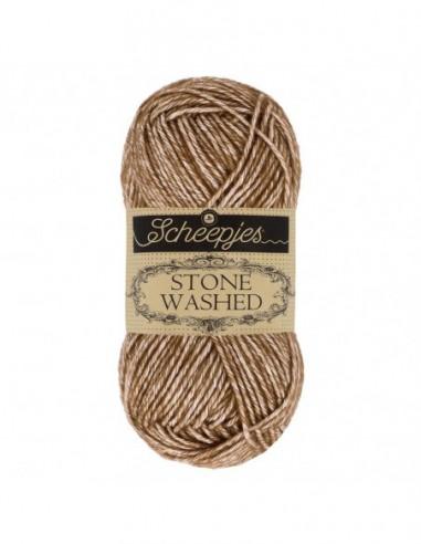 Scheepjes Stone Washed 1664-822 Brown Agate